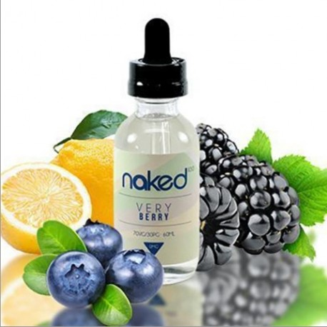 Very berry by Naked 100 eJuice