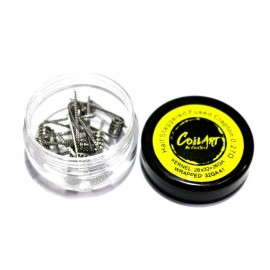Coils Half Staggered Fused Clapton 0.27ohm