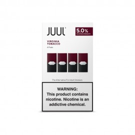 JUUL Virginia Tobacco Pods (boîte de 4 pods)