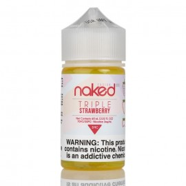 TRIPLE STRAWBERRY - NAKED 100 FUSION - 60ML