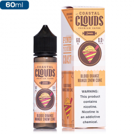 BLOOD ORANGE MANGO SNOWCONE - COASTAL CLOUDS CO. - 60ML
