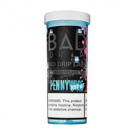 BAD DRIP | PENNYWISE ICED OUT 60ML eLiquid