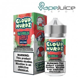 Watermelon Apple Ejuice by Cloud Nurdz 100ml