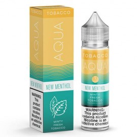 NEW MENTHOL BY AQUA TOBACCO EJUICE 60 ml